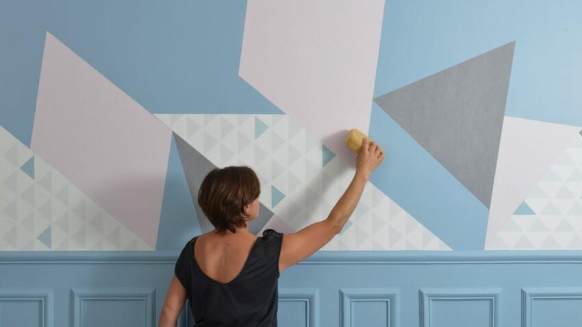 Papier peint : créer un tableau mural design