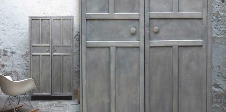 Peinture : comment patiner une armoire en bois