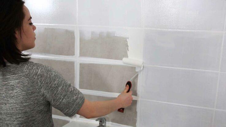 petites salles de bains nos id es d co femme actuelle le mag. Black Bedroom Furniture Sets. Home Design Ideas