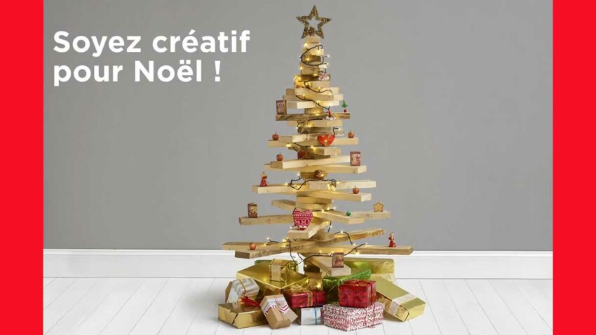 Récup : un sapin de Noël avec du bois de palette