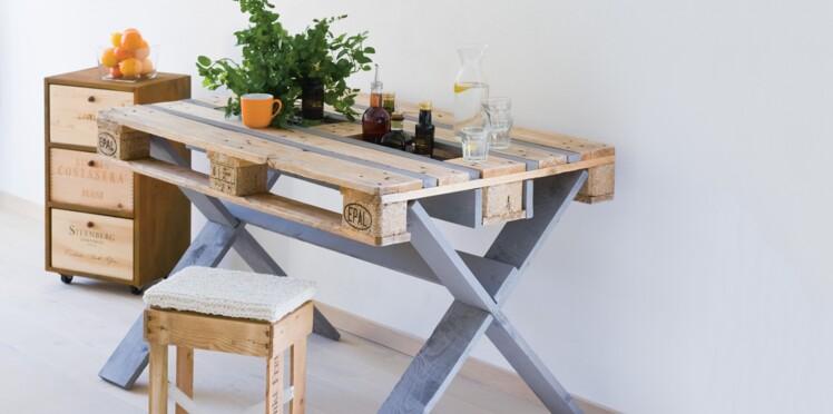 Récup Une Table En Palette De Bois Femme Actuelle Le Mag