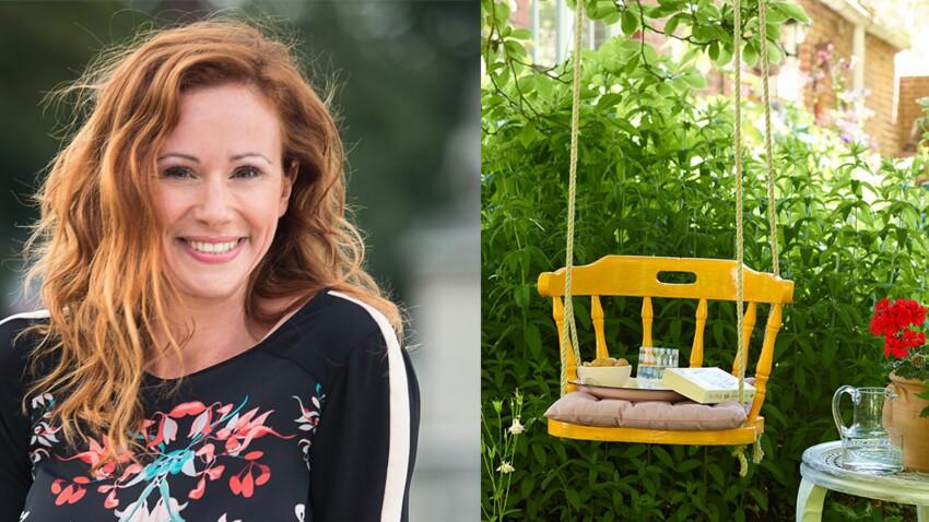 Un fauteuil suspendu pour le jardin, par Sophie Ferjani