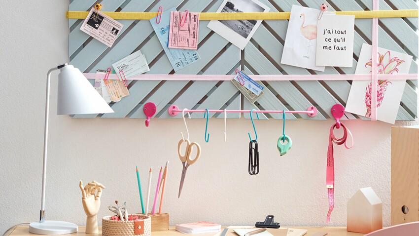 Un pêle-mêle pour le bureau, par Sophie Ferjani