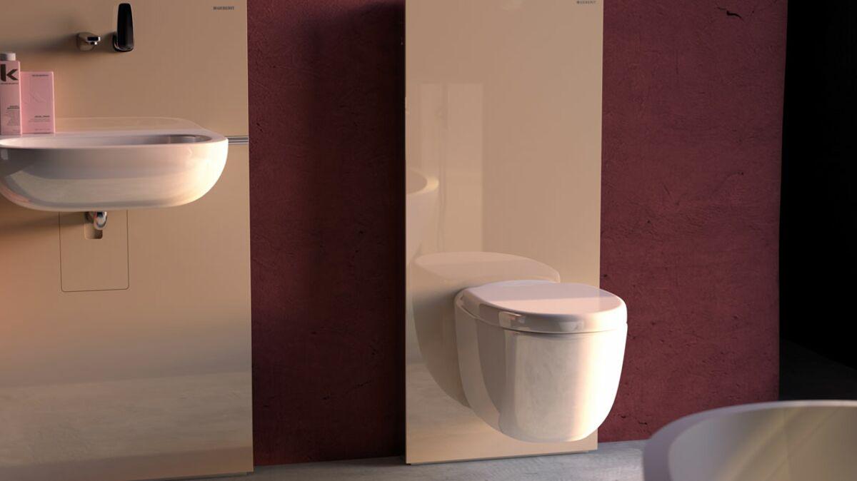 Comment Installer Toilette Suspendu wc suspendu : pourquoi on l'aime ? : femme actuelle le mag