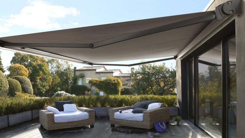 Aménagement de terrasse : installer un store banne