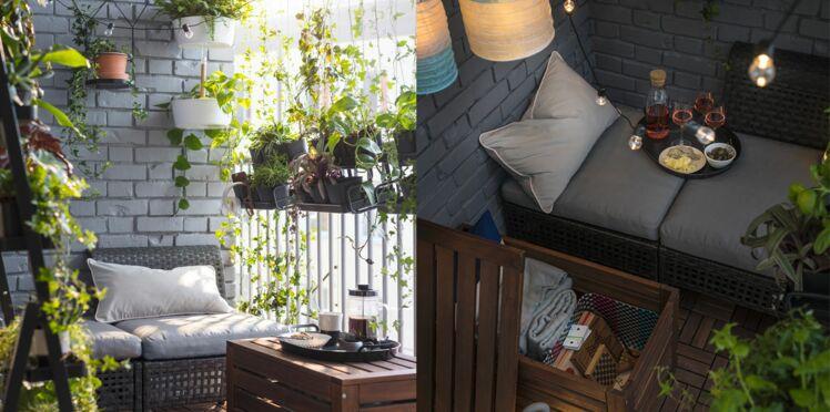 Décoration d'extérieur : 4 idées pour aménager un balcon végétal
