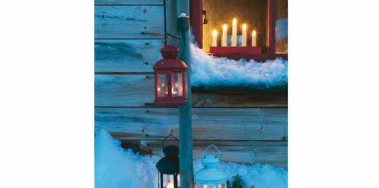 Décors de Noël au jardin