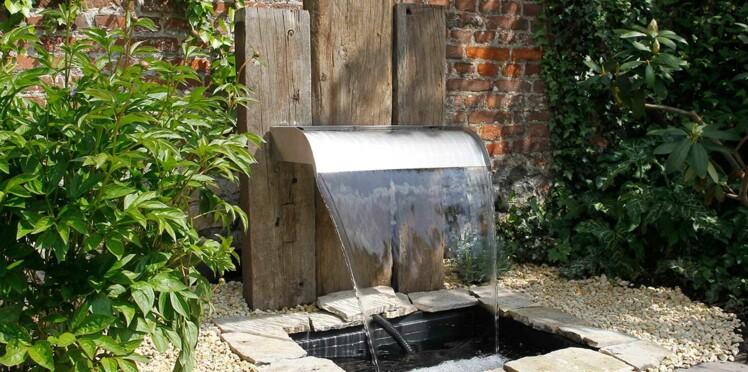 Fontaine de jardin : l\'atout fraîcheur à l\'extérieur : Femme ...