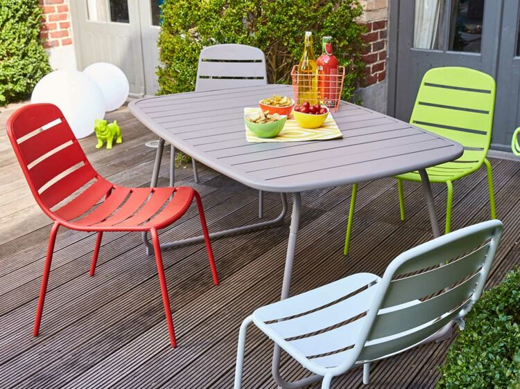Mobilier de jardin Carrefour : la collection printemps été ...