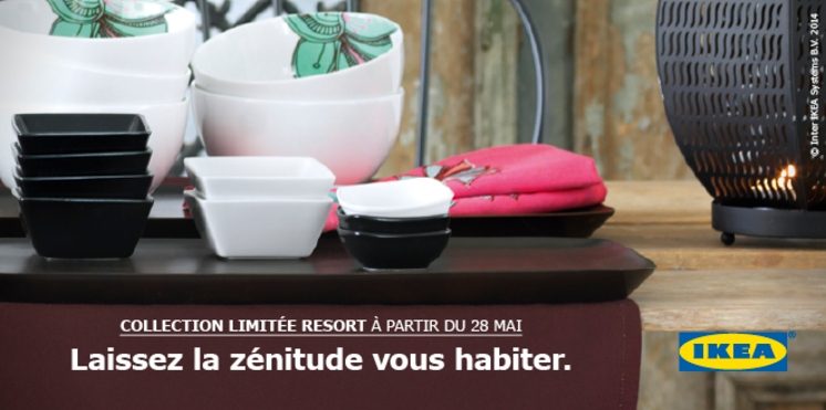 IKEA - Collection limitée RESORT à partir du 28 mai