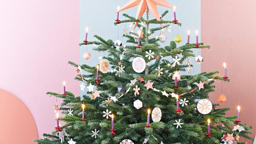 3 idées de déco de Noël en papier