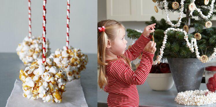 7 déco gourmandes à faire avec les enfants pour Noël