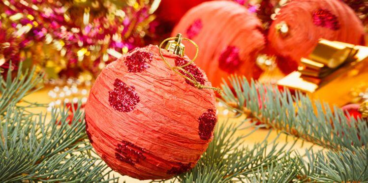 Des boules de Noël