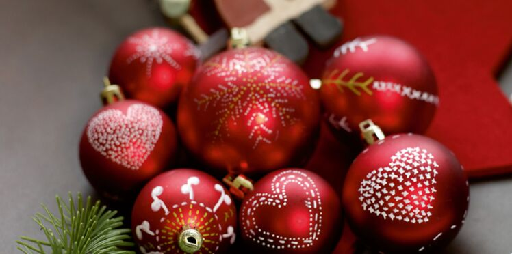 Boules de Noël à faire soi-même