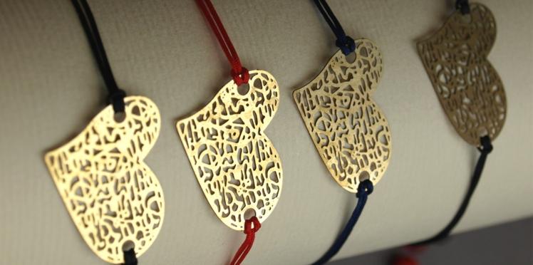 DIY: Un bracelet cœur pour la Fête des mères