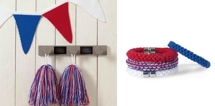 Les bracelets tricolores