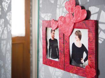 Un cadre photo pour les amoureux