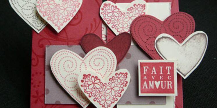 Réaliser une carte de Saint Valentin