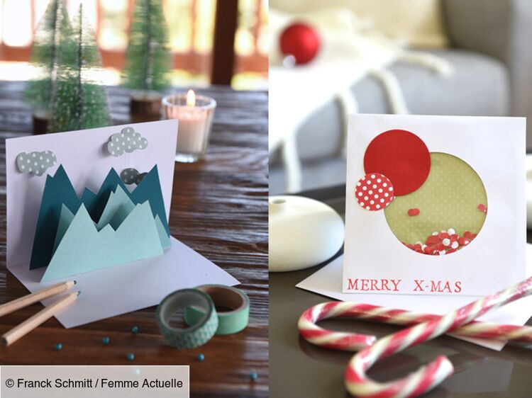 Nos cartes de vœux originales à faire soi même : Femme Actuelle Le MAG