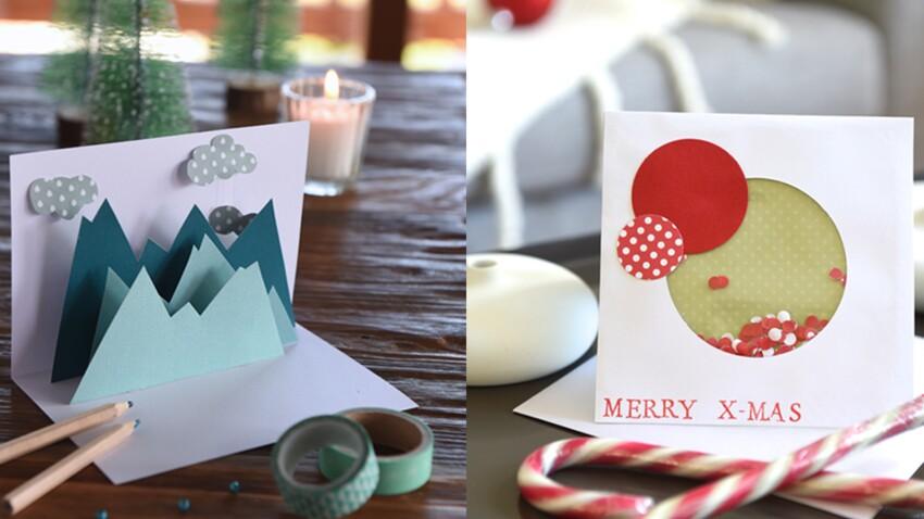 Nos cartes de vœux originales à faire soi-même