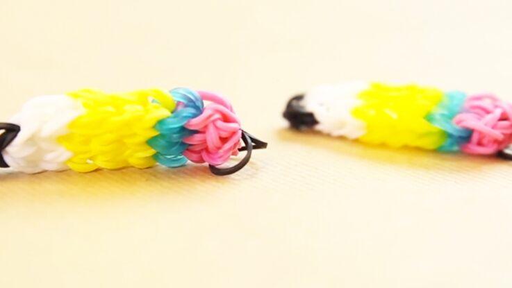 Charms avec des élastiques : le mini crayon