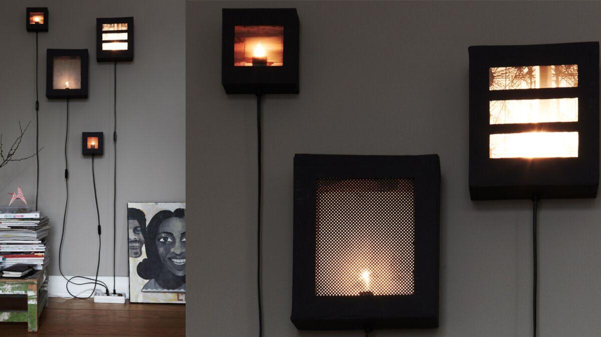 Comment Customiser Une Lampe De Chevet comment créer une lampe dans une boîte à chaussures