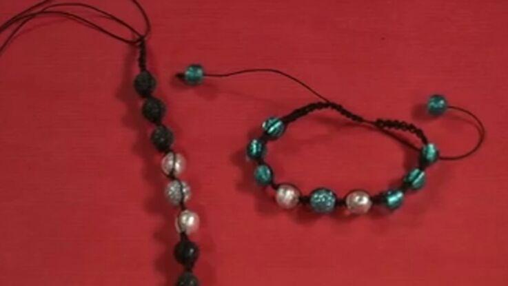 Je fabrique mon bracelet Shamballa