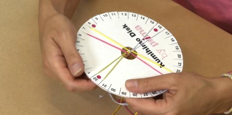 Comment faire un bracelet Kumihimo à 8 brins