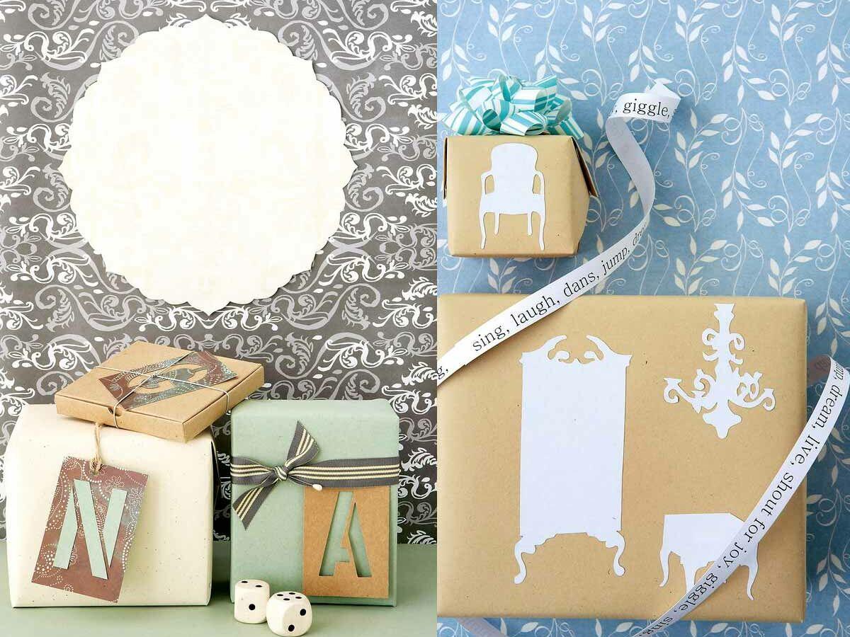 Faire Ses Pochoirs Soi Meme comment faire un paquet cadeau personnalisé : 3 idées