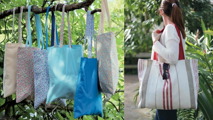 Couture : deux sacs rapides et faciles à faire