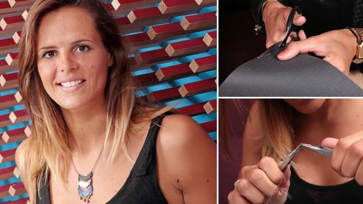 Créez un collier tendance avec Laure Manaudou !
