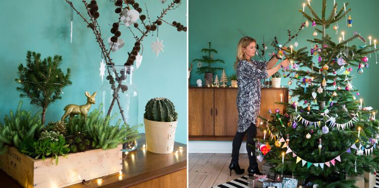 Décoration de maison pour un Noël végétal