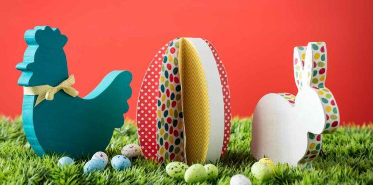 Des animaux 3D pour ma décoration de Pâques