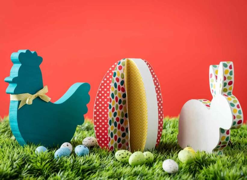 Des animaux 3D pour Pâques
