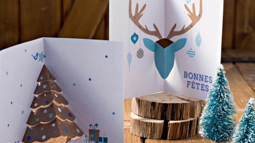 Gratuit : des cartes pop-up à imprimer pour les fêtes de fin d'année