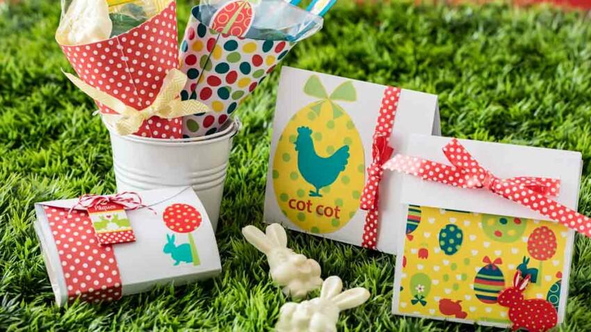 Des sachets de chocolats gourmands pour Pâques