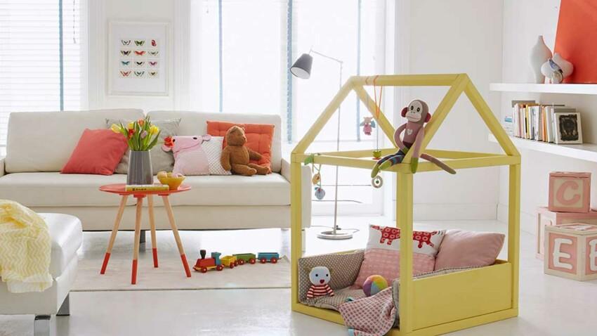 DIY : une cabane tout confort pour bébé