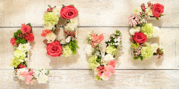 DIY : un centre de table fleuri à petit prix
