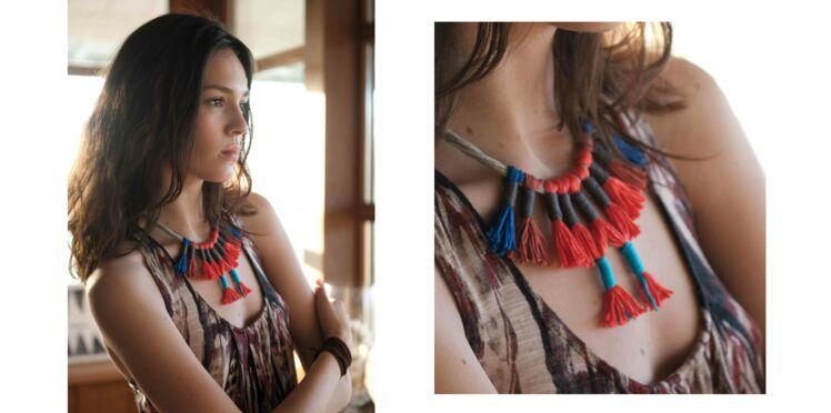 DIY : un collier tout en pompons
