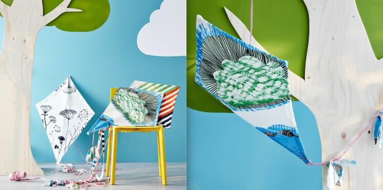 DIY : Comment fabriquer un cerf-volant