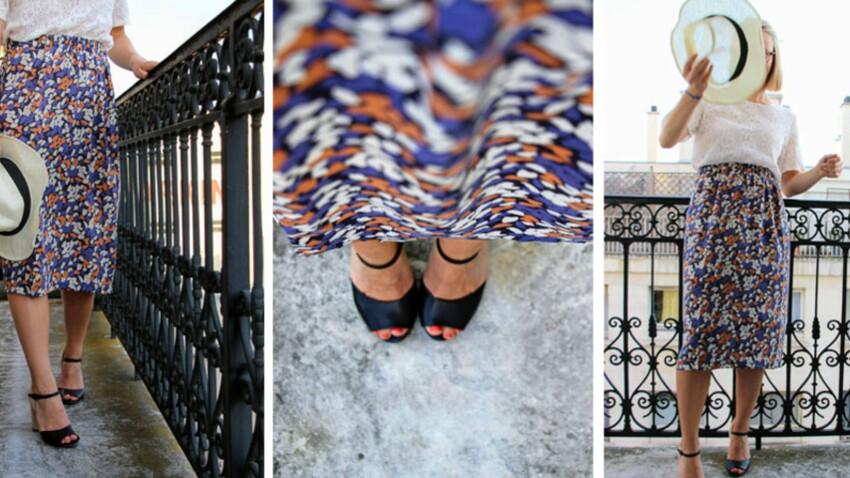 DIY couture : Une jupe facile et sans patron
