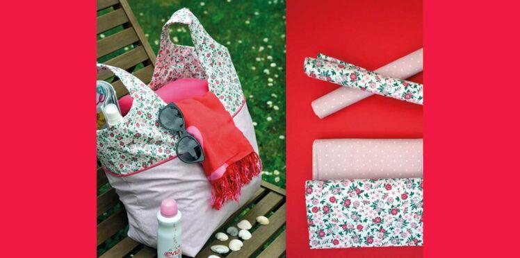 DIY Couture : un cabas en tissu