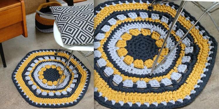 DIY Crochet : un tapis Kolam