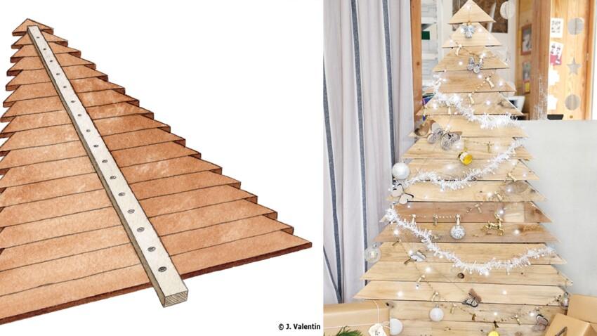 DIY de Noël : un sapin récup avec des palettes