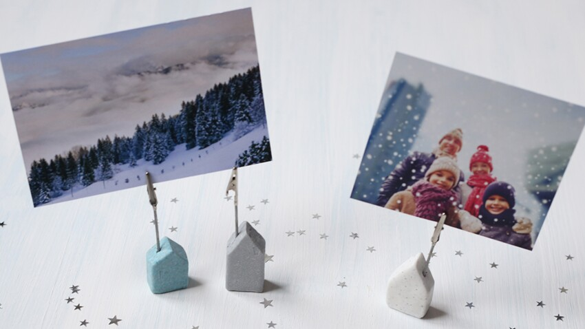 DIY de Noël: un porte-photo facile