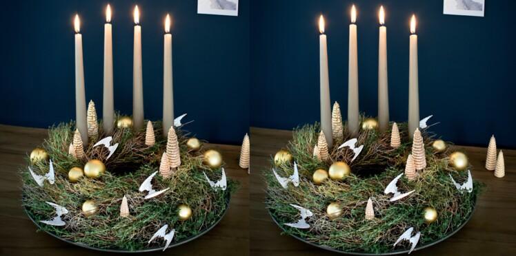 DIY de Noël : une couronne végétale