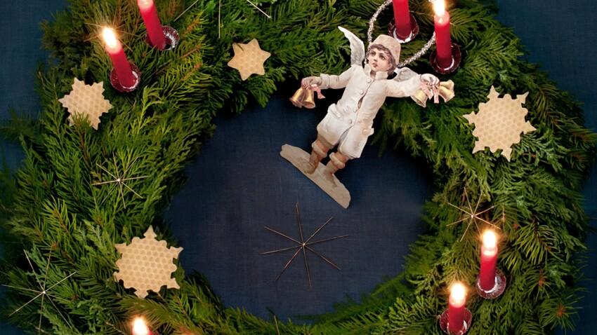 DIY de Noël : une couronne parfumée