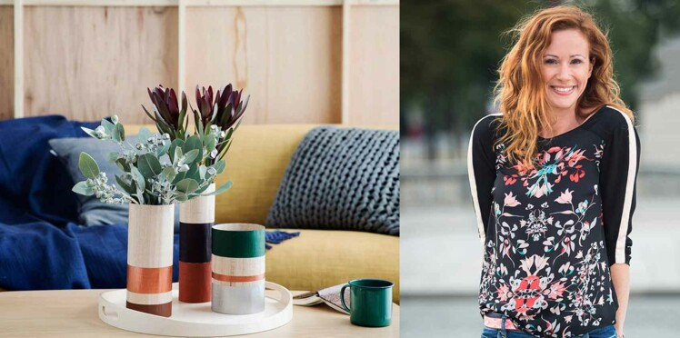 DIY : des vases en bois par Sophie Ferjani