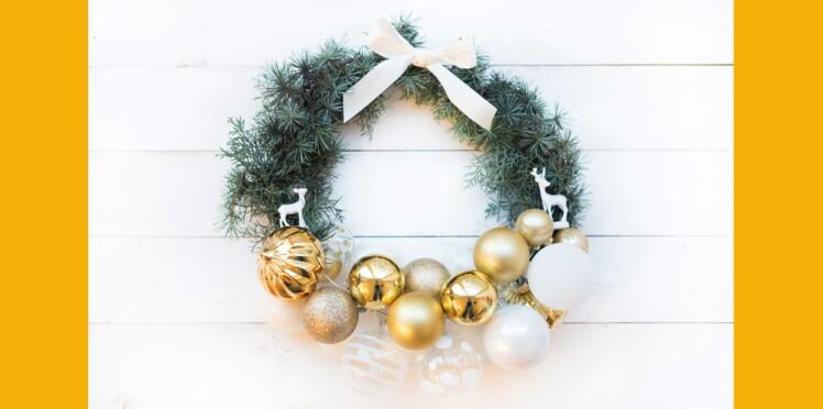 DIY Facile : une couronne de Noël pas chère