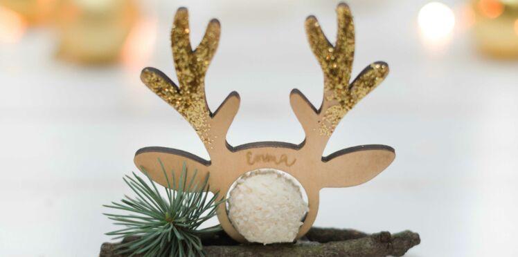 DIY Facile : un marque-place pour votre table de Noël